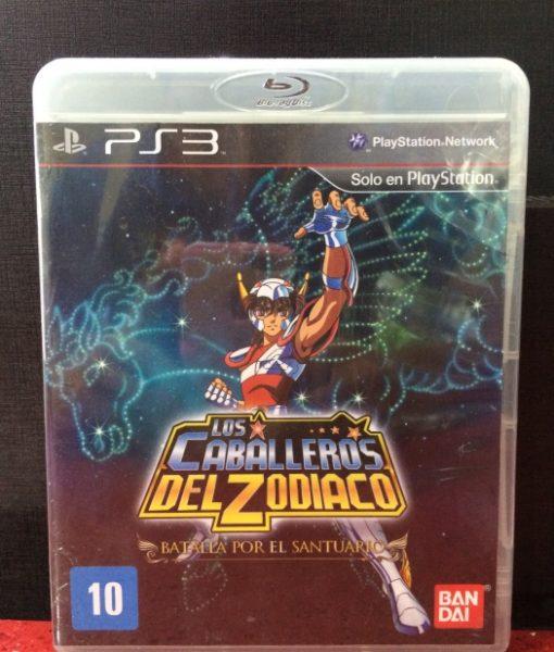 PS3 Caballeros del Zodiaco Batalla Santuario game