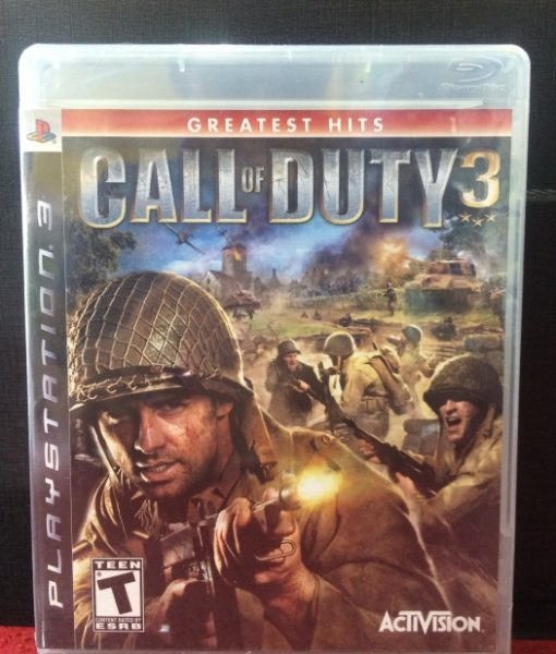 PS3 Call of Duty 3 game