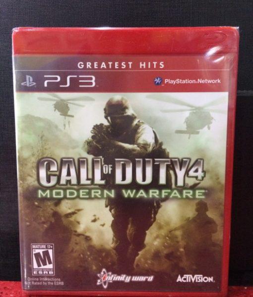PS3 Call of Duty 4 Modern Warfare game