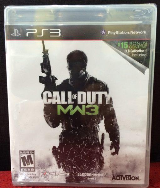 PS3 Call of Duty Modern Warfare 3 game