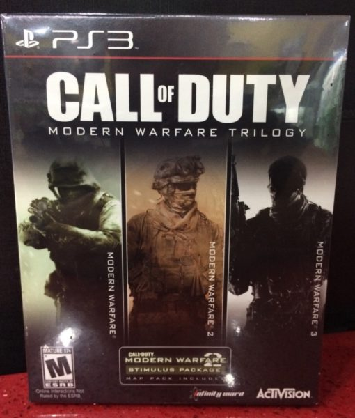 PS3 Call of Duty Modern Warfare Trilogy game