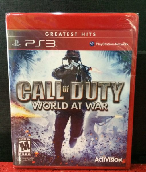 PS3 Call of Duty World at War game