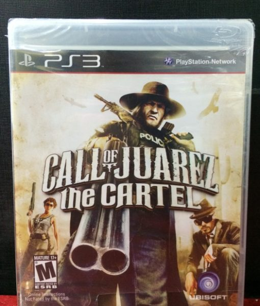 PS3 Call of Juarez The Cartel game