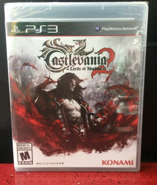 PS3 Castlevania Lords of Shadow 2 game