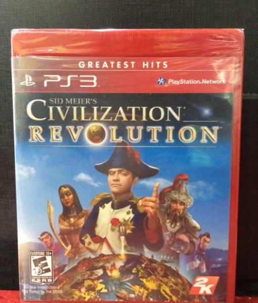 PS3 Civilization Revolution game