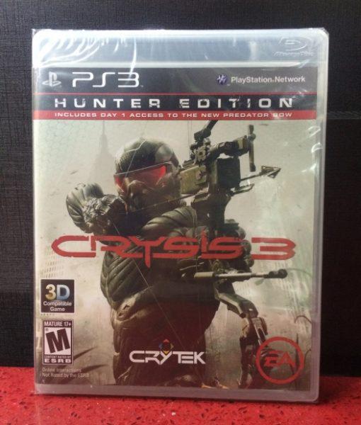 PS3 Crysis 3 game