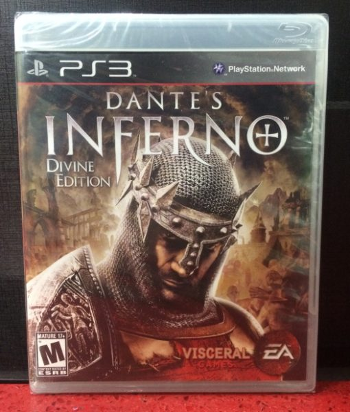PS3 Dantes Inferno game