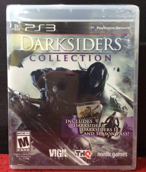 PS3 DarkSiders Collection game