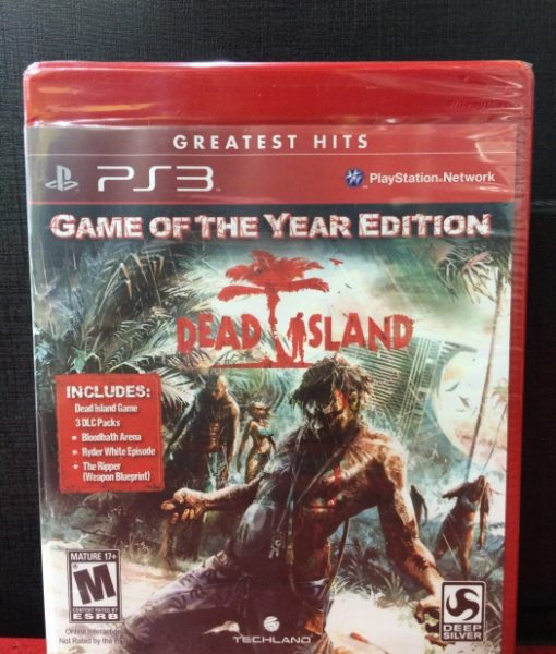 PS3 Dead Island Game Year game