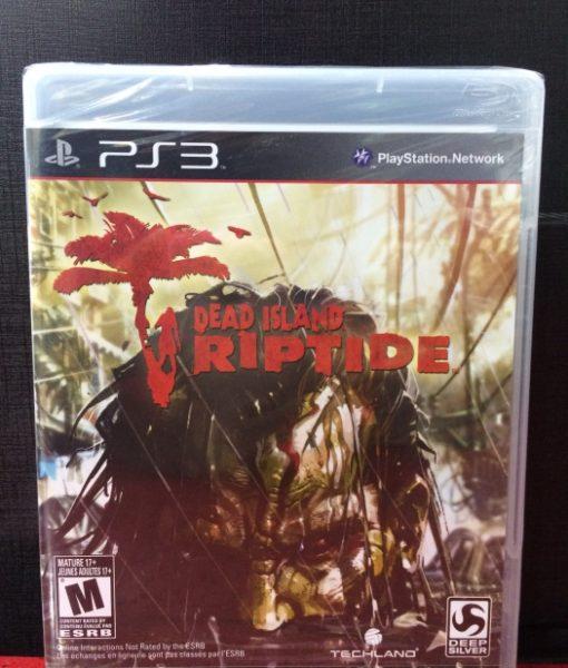 PS3 Dead Island Riptide game