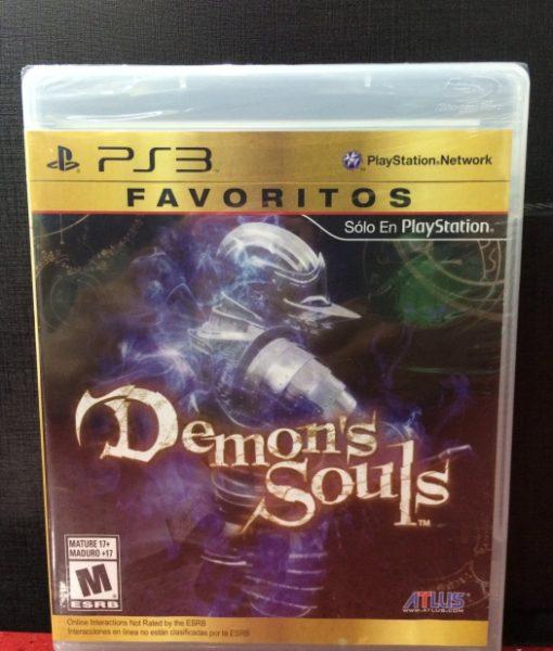 PS3 Demons Souls game
