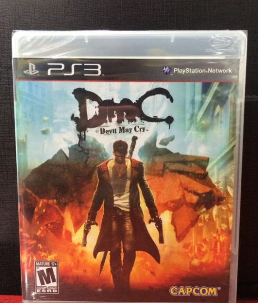 PS3 Devil May Cry 5 DMC game
