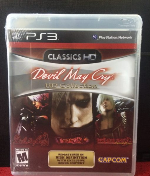 PS3 Devil May Cry HD Collection game