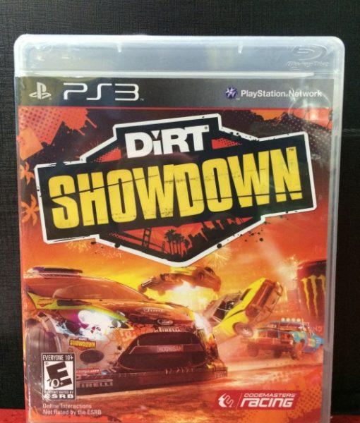 PS3 Dirt Showdown game