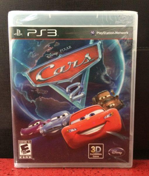 PS3 Disney Cars 2 game