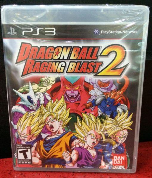 PS3 Dragon Ball Raging Blast 2 game