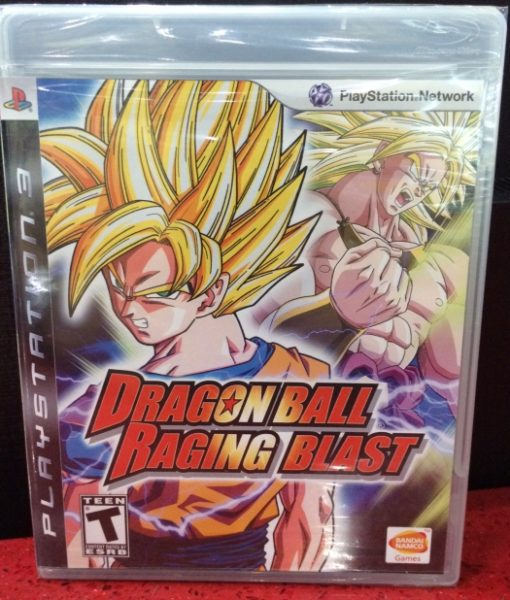 PS3 Dragon Ball Raging Blast game