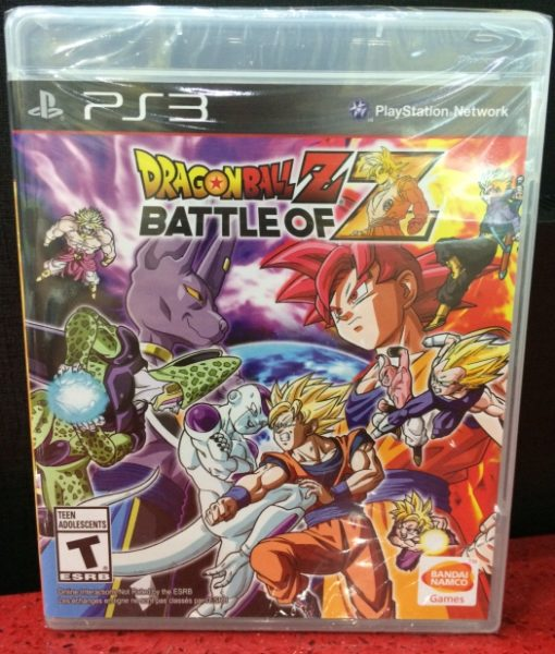 PS3 Dragon Ball Z Battle of Z game