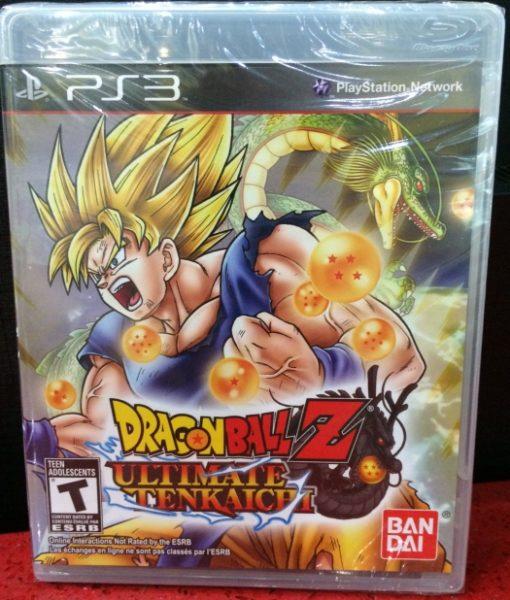 PS3 Dragon Ball Z Ultimate Tenkaichi game
