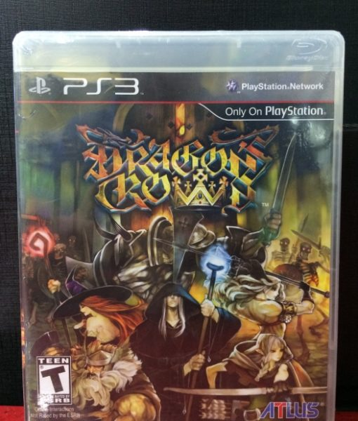 PS3 Dragons Crown game