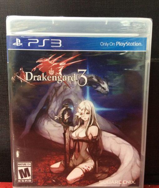 PS3 Drakengard 3 game