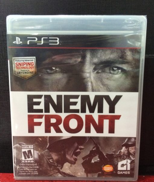 PS3 Enemy Front game