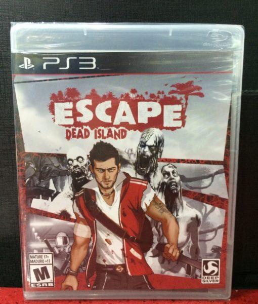 PS3 Escape Dead Island game