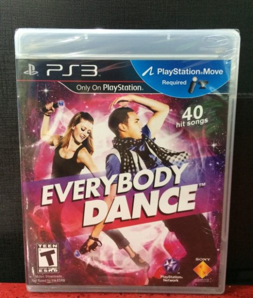 PS3 EveryBody Dance Move game
