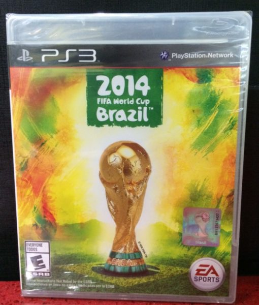 PS3 FIFA World Cup Brazil 2014 game