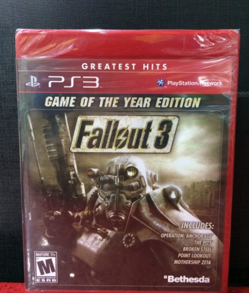 PS3 FallOut 3 game year