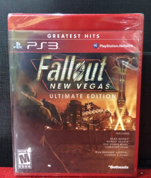 PS3 FallOut New Vegas Ultimate Edition game