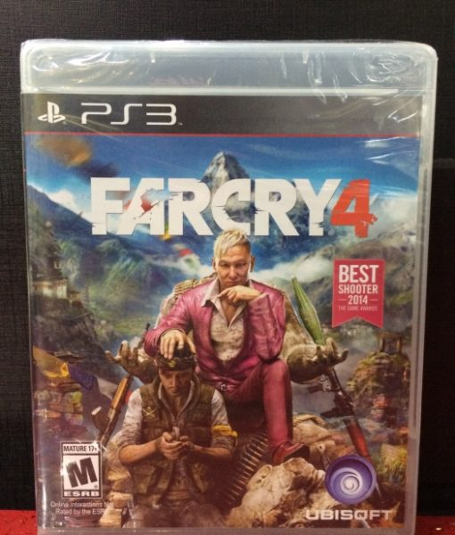 PS3 FarCry 4 game
