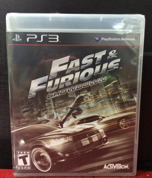 PS3 Fast and Furious Showdown game