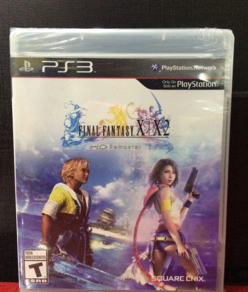 PS3 Final Fantasy X – X2 HD Remaster game