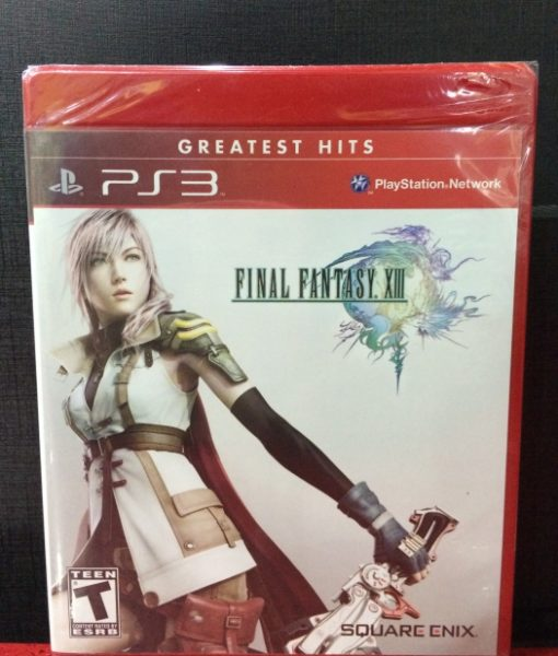 PS3 Final Fantasy XIII game