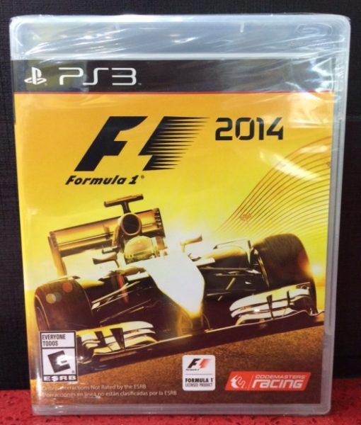 PS3 Formula 1 2014 game