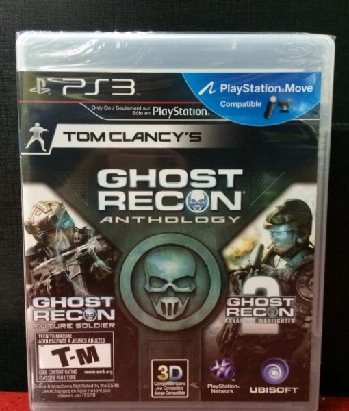 PS3 Ghost Recon Anthology game