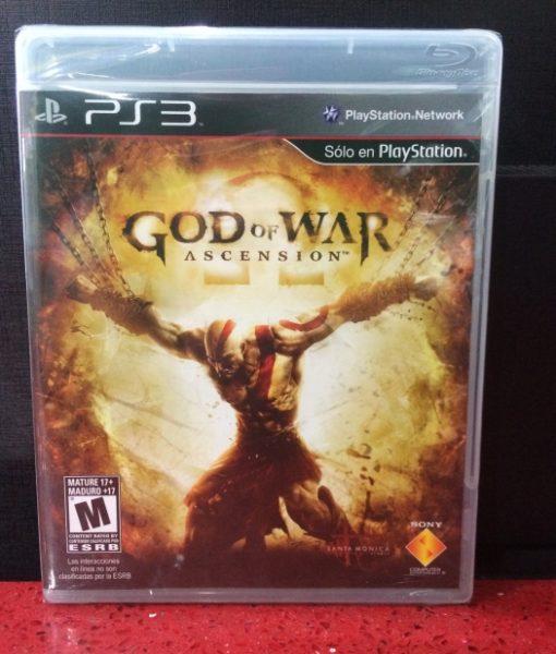 PS3 God of War Ascension game