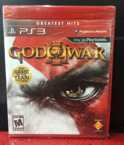 PS3 God of War III game
