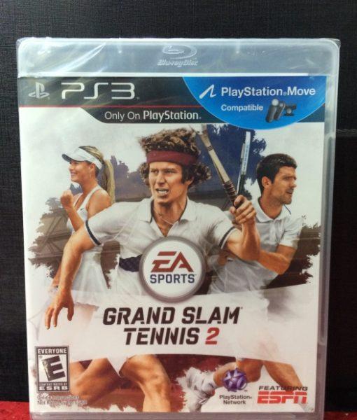 PS3 Grand Slam Tennis 2 game