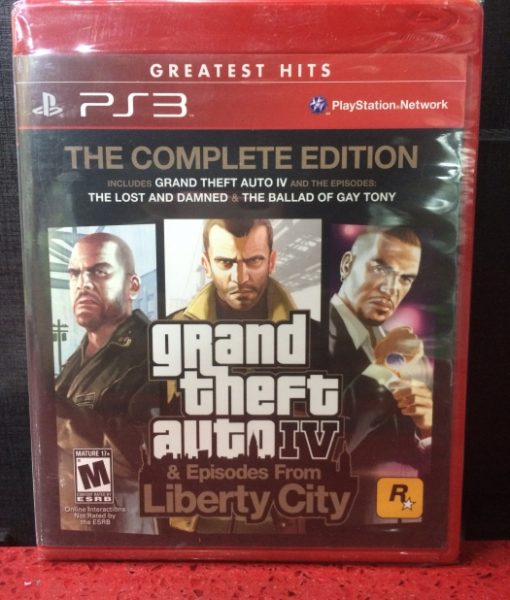 PS3 Grand Theft Auto IV Complete Edition game