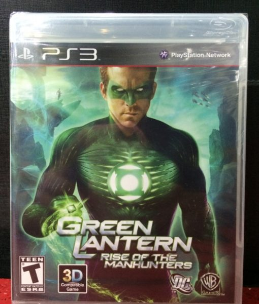 PS3 Green Lantern game
