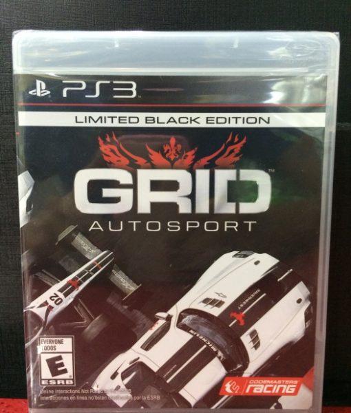 PS3 Grid AutoSport game