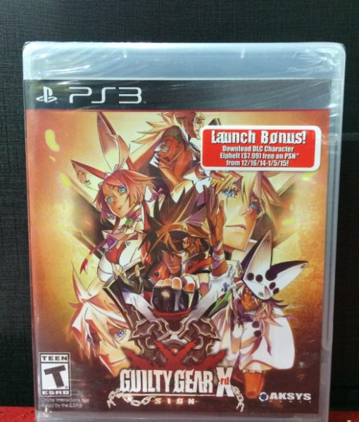 PS3 Guilty Gear Xrd SIGN game