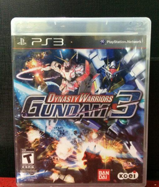 PS3 Gundam 3 game
