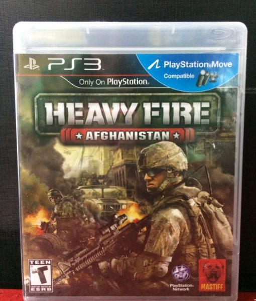 PS3 Heavy Fire Afghanistan game