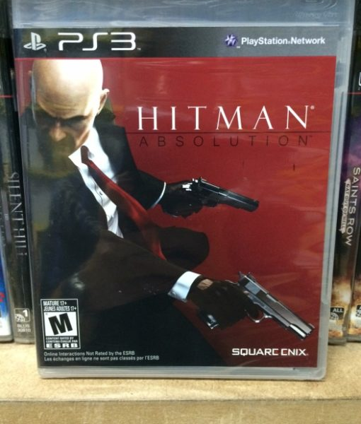 PS3 Hitman Absolution game