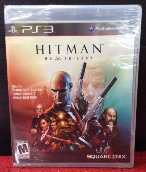 PS3 Hitman HD Trilogy game