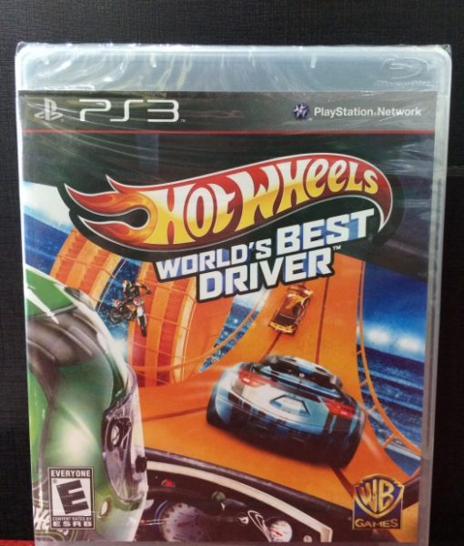 PS3 Hot Wheels Worlds Best Driver game