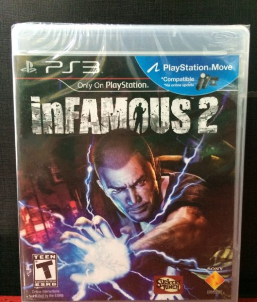 PS3 Infamous 2 game